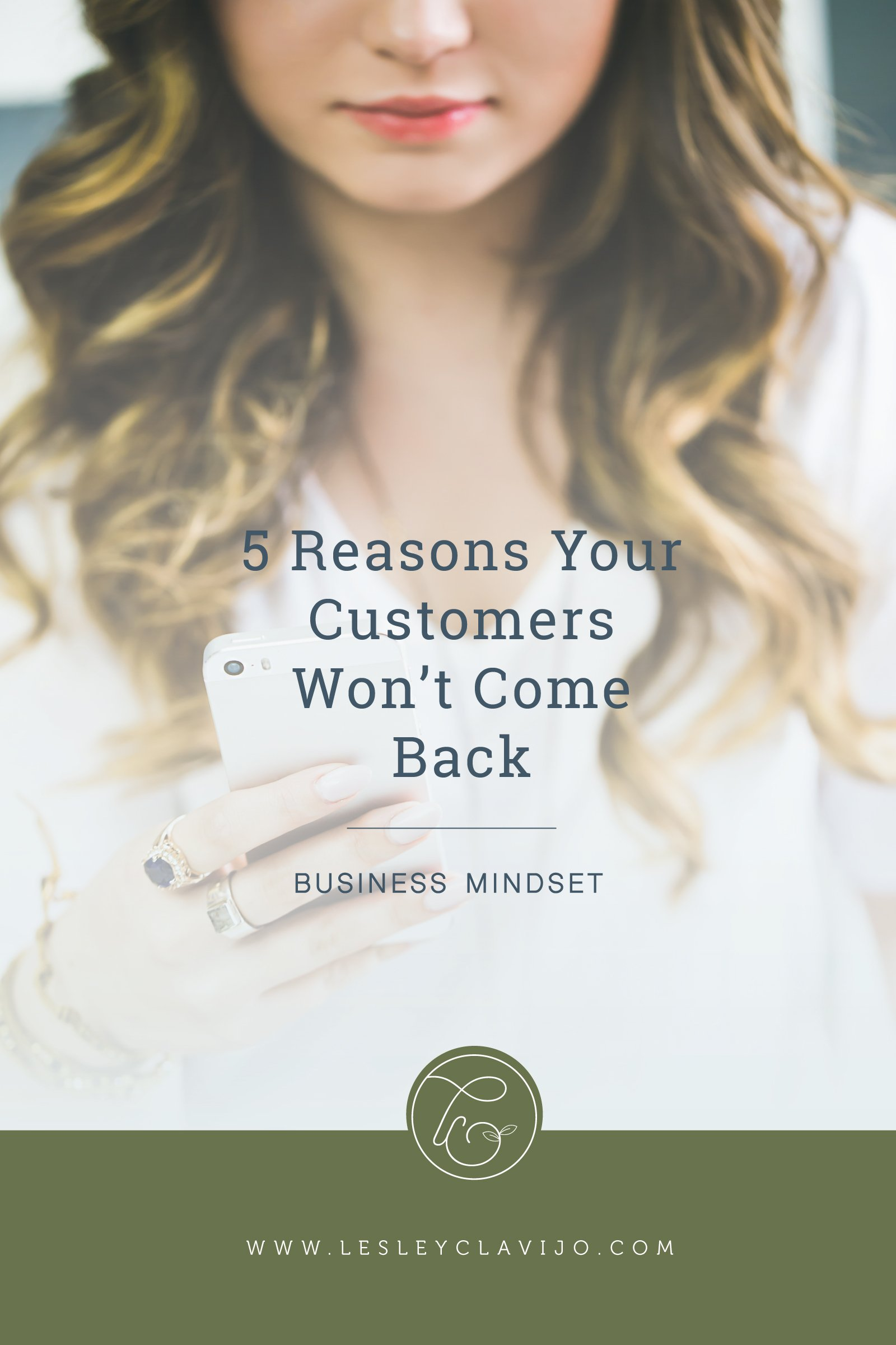 5 Reasons Your Customers Won't Come Back