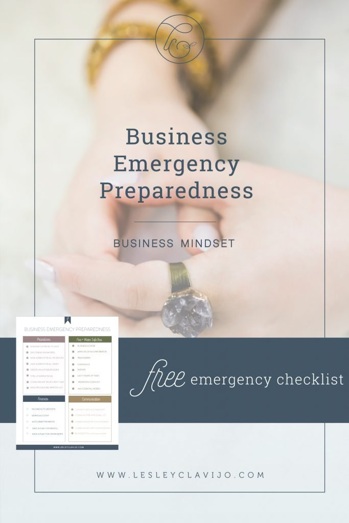 Emergency Preparedness Checklist for your Business