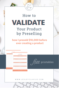How to Validate Your Product Idea Before Creating it through a preselling #validate #launching #preselling #entrepreneur #digitalmarketer