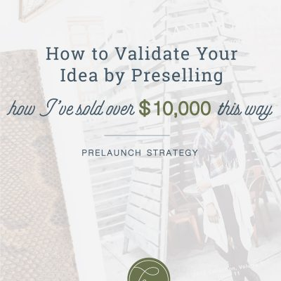 How to Validate Your Product by Preselling