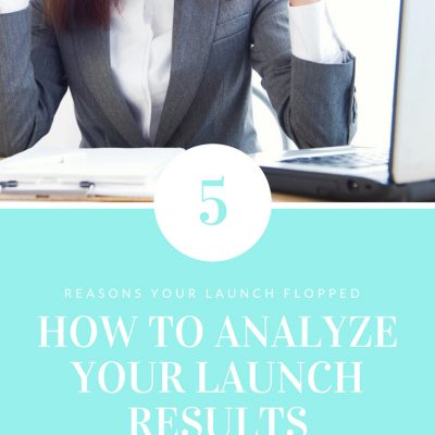 Launch Flopped? How to analyze your launch results so it doesn't happen again