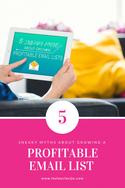 5 Sneaky Myths About Growing A Profitable Email Lists